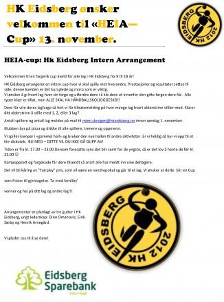 HK Eidsberg - Heia Cup 2015